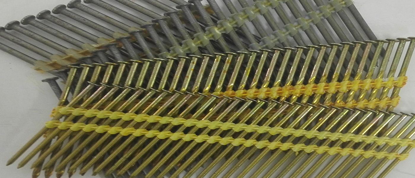 RH- Round Head stripnagels 20-21° nagels Verzinkt Gegalvaniseerd