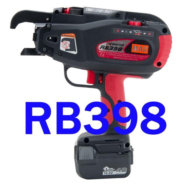 MAX RB398 Re-bar-tier vlechtmachine NIEUW/ONGEBRUIKT